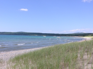 Port of Petoskey, Lake Michigan in North America - Great Lakes